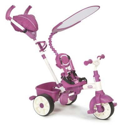 Little Tikes 4-in-1 Sports Edition Trike in Pink/White