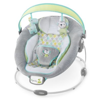 Whats New > Ingenuity™ Soothe 'n Delight Bouncer™ in Savvy Safari