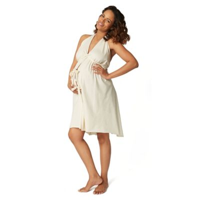 Labor Gown in Cream