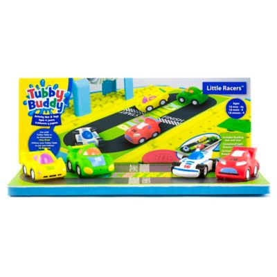 Tubby Table Tubby Buddy Little Racers Activity Mat + Toys