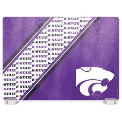 Kansas State University Tempered Glass Cutting Board