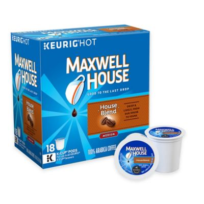 Keurig® K-Cup® Pack 18-Count Maxwell House® House Blend Coffee