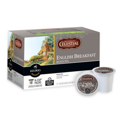 Keurig® K-Cup® Pack 12-Count Celestial Seasonings® English Breakfast Black Tea