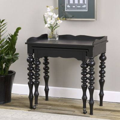Uttermost Hallee Rollout Desk in Black