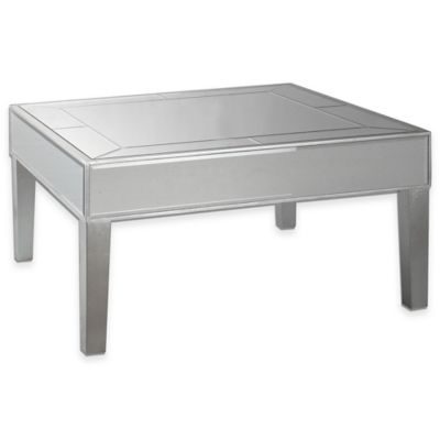 Uttermost Enrikos Mirrored Coffee Table