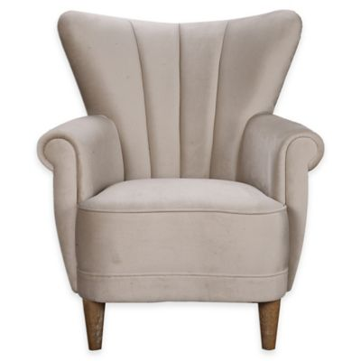 Uttermost Franchette Accent Chair in Off White
