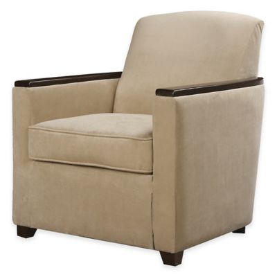 Uttermost Kempton Accent Armchair in Tan