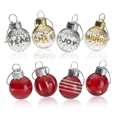 Mikasa® Cheers Ruby Ornament Wine Charms (Set of 4)