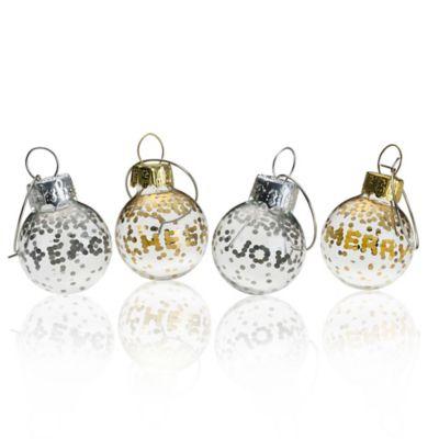 Mikasa® Cheers Confetti Ornament Wine Charms (Set of 4)
