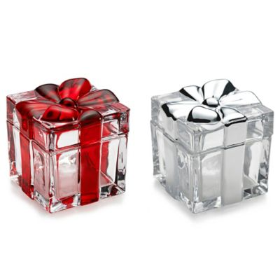 Mikasa® Holiday Treats Covered Box in Clear