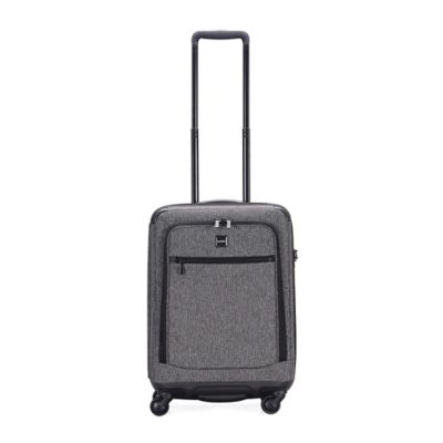 Lojel Exos III 22-Inch 4-Wheel Expandable Carry On Spinner in Ash Grey