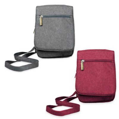 Sacs Collection Everyday Companion Cross Body Bag in Grey