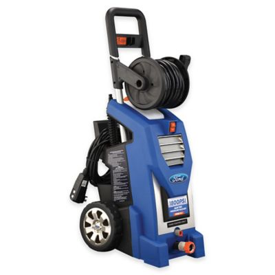 Ford 1800 PSI Electric Pressure Washer Kit in Blue
