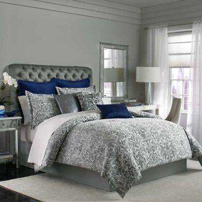 Manor Hill® Casablanca King Comforter Set in Grey