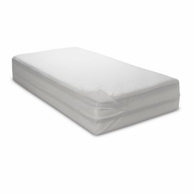 Bedcare™ by National Allergy® Cotton Allergy Twin Mattress Protector in White