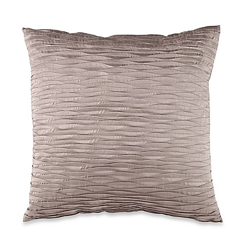 Throw Pillows For Taupe Couch : Half Moon Square Throw Pillow in Taupe - www.BedBathandBeyond.com