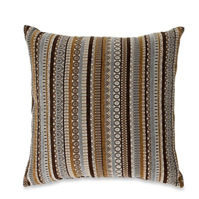 Monarch Square Throw Pillow