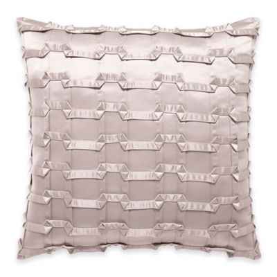 Manor Hill® Ripple Geometric Applique Square Throw Pillow