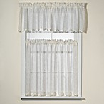 Diamante Kitchen Window Curtain Tiers