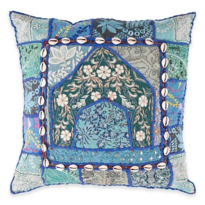 Surya Kineshma 18-Inch Throw Pillow in Cobalt