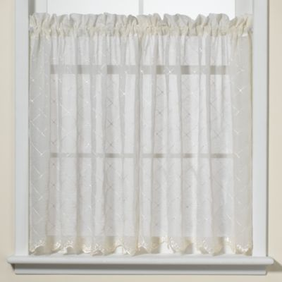 Diamante 24-Inch Kitchen Window Tiers