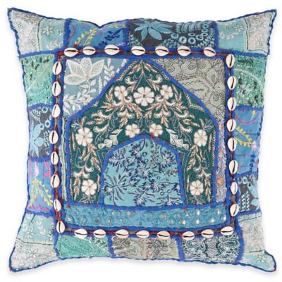 Surya Kineshma 22-Inch Throw Pillow in Cobalt