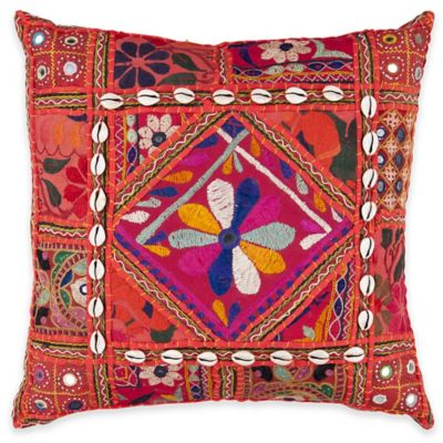 Surya Konakovo 22-Inch Throw Pillow in Rust