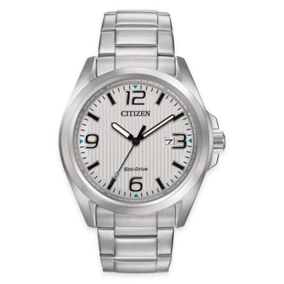 Citizen Eco-Drive Sport Men's 43mm Stainless Steel Watch with Metal Dial