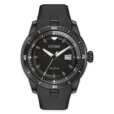 Citizen Eco-Drive Men's 47mm Ecosphere Watch with Black Polymatte Finish