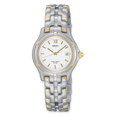 Seiko Le Grand Sport Ladies' 27mm Solar Dress Watch in Two-Tone Stainless Steel