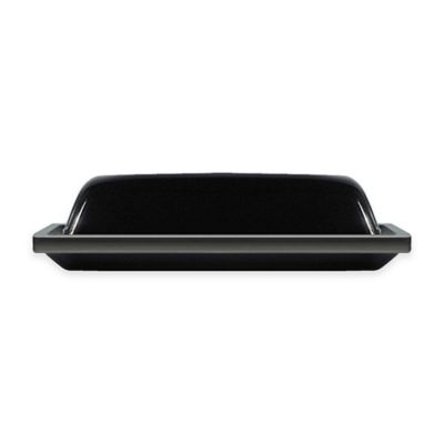 Black White Butter Dish
