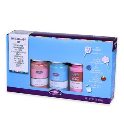 Nostalgia Electrics™ Cotton Candy Floss Sugar Kit
