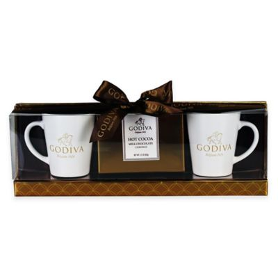 Godiva® Milk Chocolate Cocoa for 2 Gift Set