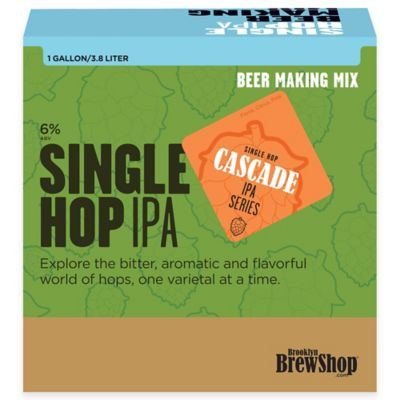 Brooklyn Brew Shop Single Hop IPA Beer Refill Mix