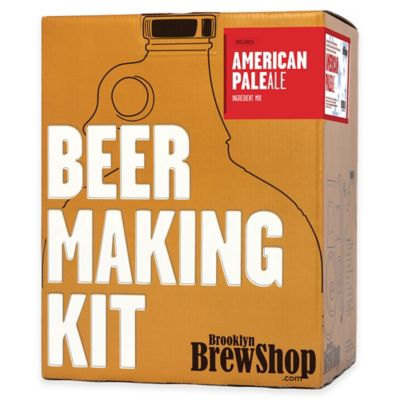 Brooklyn Brew Shop American Pale Ale Beer Making Kit