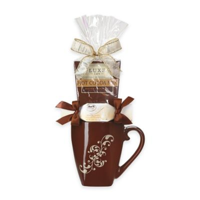 Lindt Holiday Cocoa Mug Gift Set