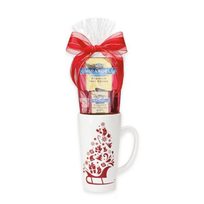 Ghirardelli® Holiday Cocoa Mug Gift Set