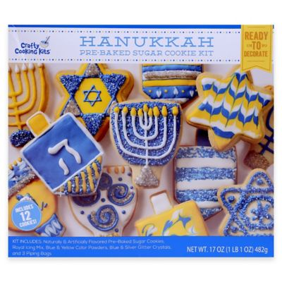 Hanukkah Sugar Cookie Kit