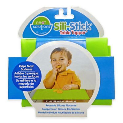 Neat Solutions® Sili-Stick® Table Topper® Reusable Silicone Placemat in Green