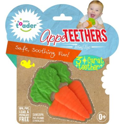 Little Toader™ AppeTEETHERS™ 3-Carat Teether™ Teething Toy