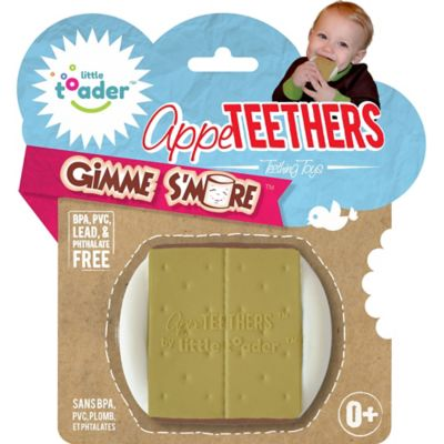 Little Toader™ AppeTEETHERS™ Gimme S'More™ Teething Toy