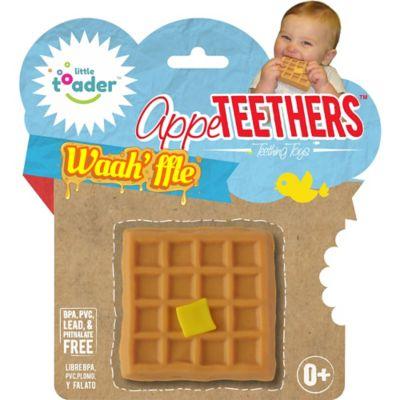 Little Toader™ AppeTEETHERS™ Waah'ffle™ Teething Toy