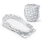 Baby Delight® Snuggle Nest® Surround Extra-Long Portable Infant Sleeper in Silver Clouds