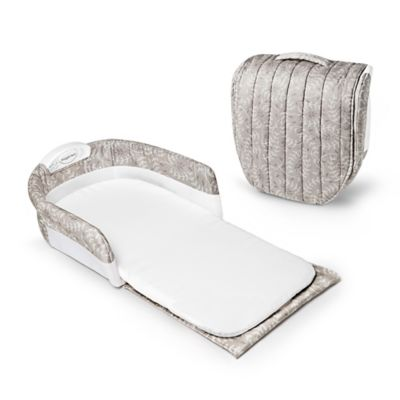 Baby Delight® Snuggle Nest® Comfort Portable Infant Sleeper in Taupe Leaves