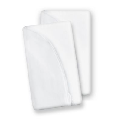 Baby Delight® Snuggle Nest Comfort® Accessory Sheets in White (2-Pack)