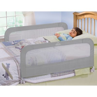Home Safe By Summer Infant® Night Double Bed Rail in Grey