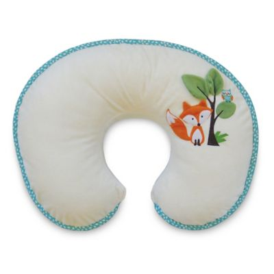 Boppy® Luxe Pillow with Reversible Slipcover in Fox and Owl
