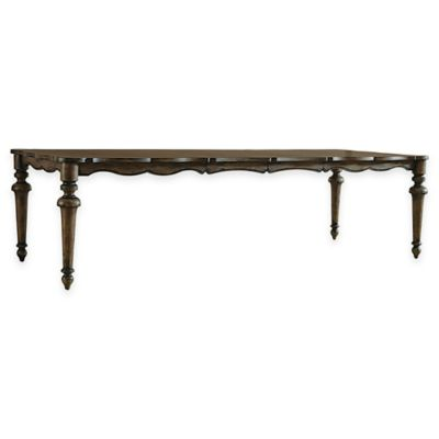 Pulaski Lucia Dining Table in Dark Brown