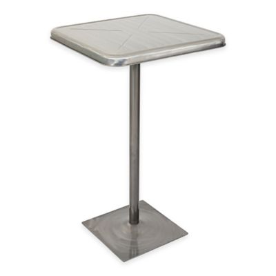 Lumisource Indy Bar Table in Silver