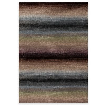 Orian Euphoria Connection 5-Foot 3-Inch x 7-Foot 6-Inch Area Rug in Multicolor